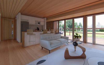 cabaña-sustentable-interior-living-cocina-la-casa-del-parquet